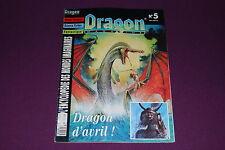 DRAGON MAGAZINE  5 - JDR Jeu de Role - Mai-Juin 1992