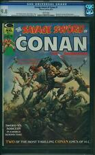 Savage Sword of Conan # 1 marvel 1974 Boris Cover CGC 9.8 Comme neuf Highest! Graded