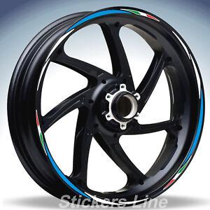 Adesivi ruote moto strisce cerchi SUZUKI GSX-R 125 GSXR125 GSXR 125 Racing 4