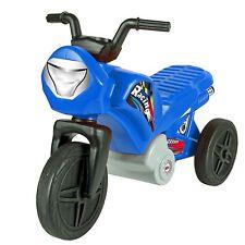 Kinder Enduro Motorrad Laufrad Rutscher Dreirad 1 bis 2 Jahre blau