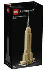 LEGO ARCHITECTURE: EMPIRE STATE BUILDING #21046~BRAND NEW~RESERVE MET~BID @ $40