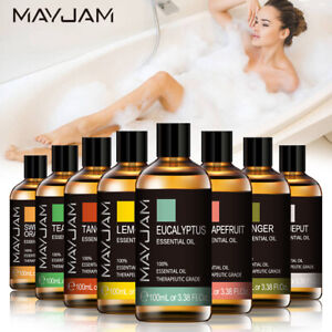 10/100ml MAYJAM Best Essential Oil Pure Aromatherapy Diffuser Oils Fragrance Oil