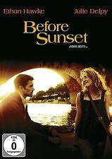 DVD BEFORE SUNSET - ETHAN HAWKE + JULIE DELPY - Romantik *** NEU ***