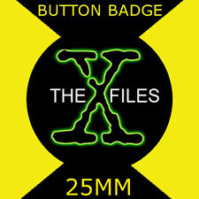 THE X FILES  - CULT TV  2 -  Button Badge 25mm