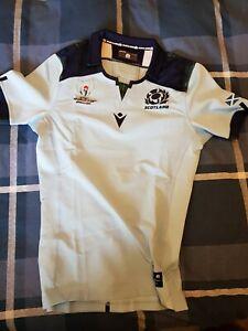 **RARE** 2019 RWC Scotland Away Rugby Shirt TEST LARGE 2019/20