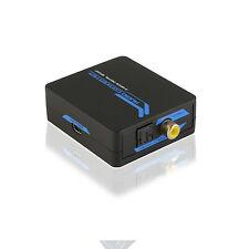 121AV®  2-way Digital SPDIF (Coaxial/Toslink) Audio Converter Support 2.1/5.1CH
