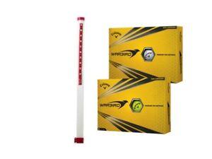 NEU! Clikka Tube Golfball Ballsammelröhre inkl. 21 Callaway Warbird Bällen!