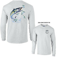 Kingfish Mackerel Opah Deep Sea Fishing Long Sleeve Tee Shirt