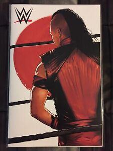 WWE #25 NM+ Shinsuke Nakamura Virgin Variant Eric Garza BOOM! Studios VHTF L@@K!