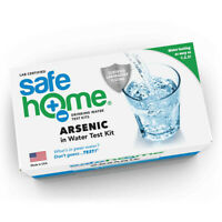 Safe Home ARSENIC in Drinking Water Test Kit (Certified Lab Testing)