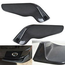 New Universal Car Forewing Left+Right Bumper Spoiler Lip Canard Diffuser Winglet