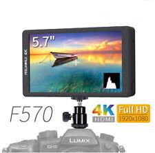Full view F570 HD 1920x1080 4K HDMI On-Camera Field Video Monitor 5.7'' Hot