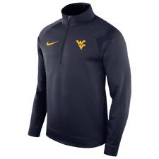 Nike Men's West Virginia Mountaineers Therma L/S 1/2 Zip Jacket 2XL XXL NWT $75
