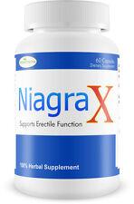 NIAGRAX Sex Enhancement Penis Enlargement Hard Long Erection Pills Fast U.S Ship