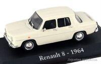 RENAULT 8 1964 IXO RBA COCHE  ESCALA 1/43