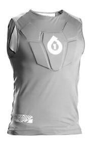 SixSixOne Men's Sub Gear Sleeveless Body Armor Bike Chest Pad Protection (XS, S)