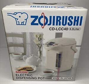 Zojirushi Micom Electric Dispensing Pot 4L Hot Water Heater CD-LCC40 Tea Coffee