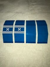 LEGO Monorail spares 6990 Trans-Dark Blue Screens Pattern Space
