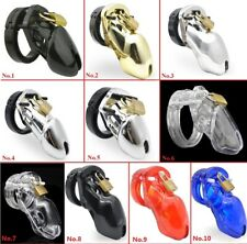 10 Styles Plastic Man Male Chastity Restraint Cuckold Penis Cage Ring Sleeve