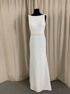 BNWT Mary's Bridal  Wedding Dress size 8 NEW Ivory Style MB1023  code MB001