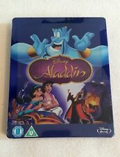 Aladdin Zavvi Exclusive Disney Collection #1 Blu Ray Steelbook-Factory Sealed