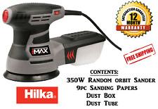 Hilka 350W Electric 125mm Random Orbit Sander Polisher Buffer Multitool Corded