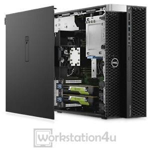 NEU Dell Precision T5820 PC Xeon W-2140B 64GB Ram, 1TB SSD, Nvidia Quadro M2000