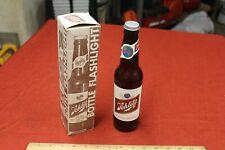 Vintage Schlitz Beer Advertising Bottle Flash Light in Box Milwaukee Collectible