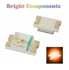 10 x 0603 Orange LED (SMD) - Ultra Bright - UK - 1st CLASS POST