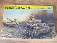 1/35 Dragon CyberHobby 6431 PzKpfw.III Ausf.N sPz.Abt.501 Afrika sealed magic tr