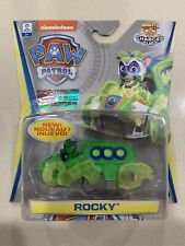 Paw Patrol Die Cast True Metal ROCKY CHARGED UP Vehicle Car NEW