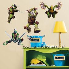 TMNT Ninja Turtles Kids Wall Stickers Vinyl Decal Art Mural Nursery Baby Decor