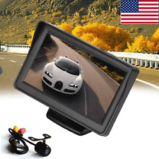 "Wireless Car Rear View 4.3"" LCD Monitor&HD IR Night Vision Backup Reverse Camera"
