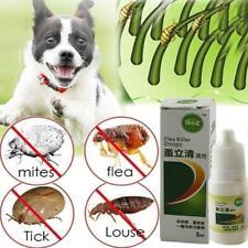 Flea Killer Liquid Dog Cat Flea Tick Killer Remover Drops Topical Body Health