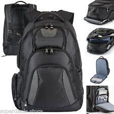 "Basecamp Concourse 17"" Laptop Computer TSA Friendly Backpack - Black Color"