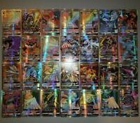 20 ULTRA RARE Holographic Pokemon GX Card Lot, Fake, No Repeats