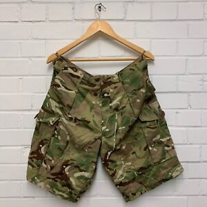 "MTP CAMO COMBAT CARGO SHORTS - 24/88/104cm  (Waist: 34.5"")  British Army Issue"