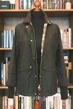 £199 Ladies Barbour Tawny green waxed jacket size UK 12 US 8 EU 38