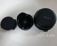 SONY VCL-ECF2 Fisheye Converter for E 16mm F2.8, E 20mm F2.8 JAPAN