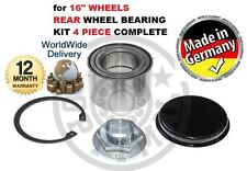 """FOR VAUXHALL MOVANO 16"""" WHEEL 2000--2010 4 PIECE REAR WHEEL BEARING KIT COMPLETE"""