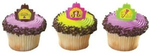 Mother's Day Cake Toppers Queen for a Day Cupcake Rings One Dozen