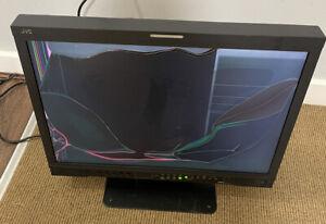 "JVC DT-V24G1 MULTI FORMAT Full HD 24"" Studio LCD Monitor - Broken Screen"