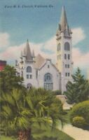 Postcard First ME Church Valdosta GA