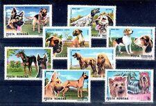 CHIEN Roumanie 8 val de 1990 ** NEUF PORT OFFERT - DOG HUND CANE