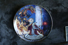 Franklin Mint Dragon Master Collector Plate # Rb7312 w/Cert. of Authenticity