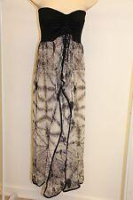 New Raviya Swimsuit Cover Up Maxi Dress Size M Black Strapless