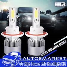 H13 9008 300W 145000LM LED Headlight Conversion Bulbs Hi-L Beam 6500K White COB