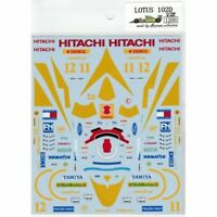 Museum Collection 1/20 Lotus 102D Decal D484