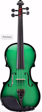AEX CARBON COMPOSITE ACOUSTIC ELECTRIC VIOLIN 4 STRING, GREEN