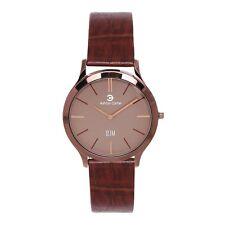 Ashton Carter Formal Brown Watch Ultra Slim Edition- AC-1008- 2 Year MANUF WRNTY